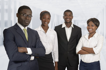 Afrikanisches Business Team