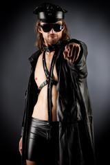 male striptease