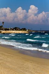Sandstrand auf Zypern