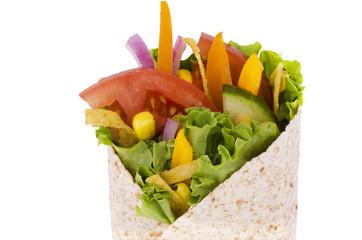 Vegetables wrap