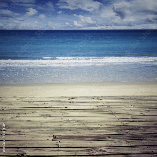 Beach view © Stillfx