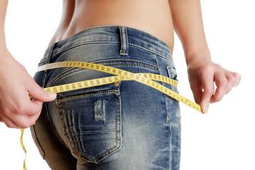 Diät Umfang Hose Messen