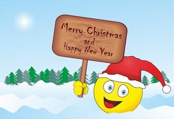 Smiley Happy New Year