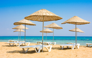 Beach in Famagusta, Cyprus