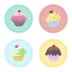 Sweet Cupcake Set