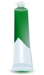 tubetto tempera verde