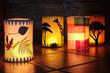 Leinwandbild Motiv Different lanterns
