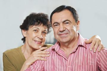 happy adult couple