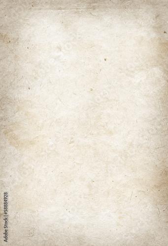 Leinwandbild Motiv Old parchment paper texture