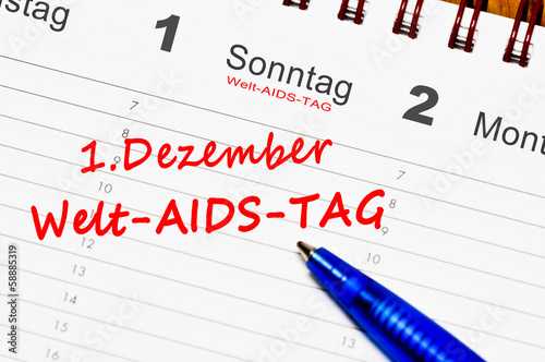 1.Dezember Aids Tag