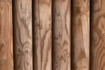 Wooden pine panel fence background texture bright