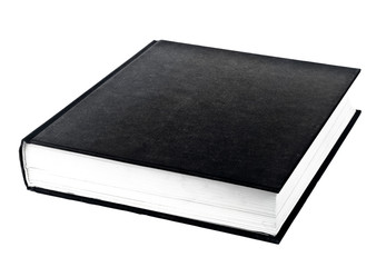black book in row