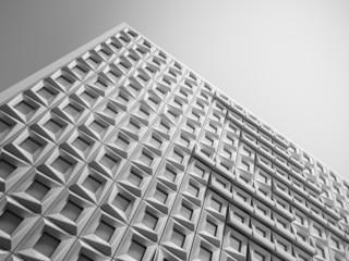 Geometric facade
