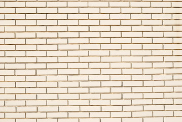 Modern white brick wall