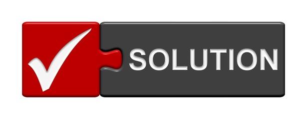 Puzzle-Button rot grau: Solution
