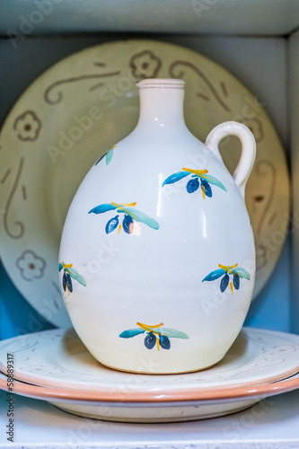 Famous ceramics in Grottaglie