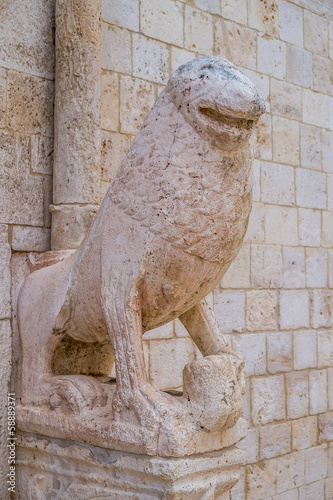 Poster Stone lions