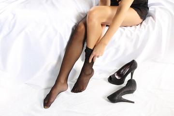 Seksowne kobiece nogi