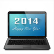 Happy New Year 2014 On Linge