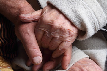 old age hand