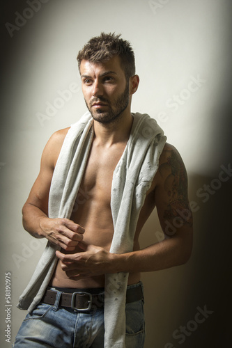Fashion male portrait
