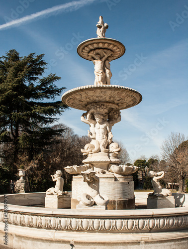 fountain in madrid