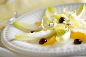 healthy endive salad
