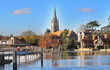 The River Thames at Marlow in England