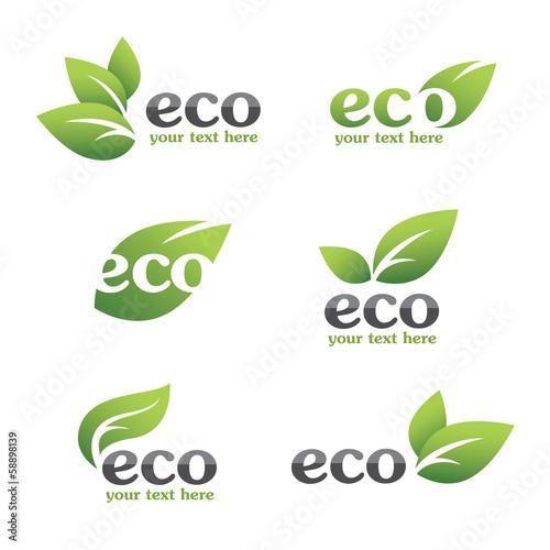 Eco icons - 58898139