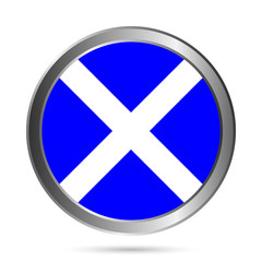 Scotland flag button.