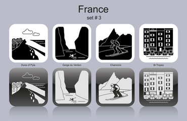 Icons of France