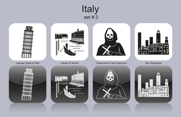 Icons of Italy