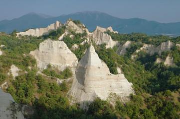 Melnik Pyramids In Bulgaria