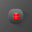GIFT icon (button present Christmas x-mas special)