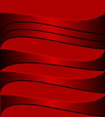 der rote Hintergrund