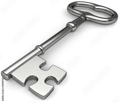 Schlüssel Puzzle