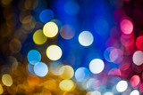 xmas blurred bokeh