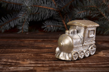 Christmas steam train