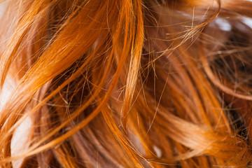 red hair macro