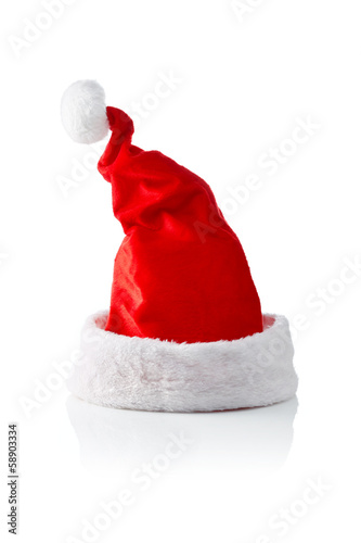 Santa hat, left sloped