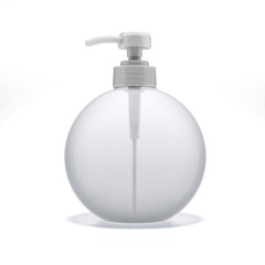 Transparent Liquid Soap Dispenser Pump