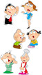 emotions family characters