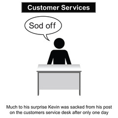 Kevin needed to improve his people skills