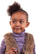 Portrait of an african american little girl  - Black people