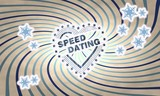 vintage wooden speed dating symbol