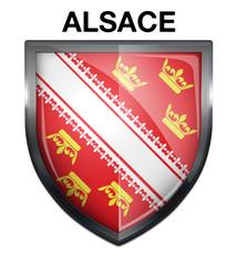 Blason Alsace Region