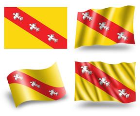 Flag of Lorraine Region