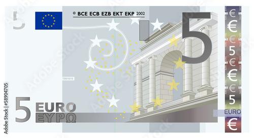 Euro 5 Vector - 58904705