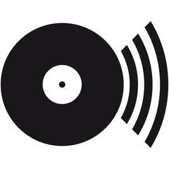 Vinyl Platte Loud Music DJ