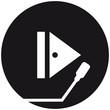 Play Symbol Vinyl Platte Music DJ